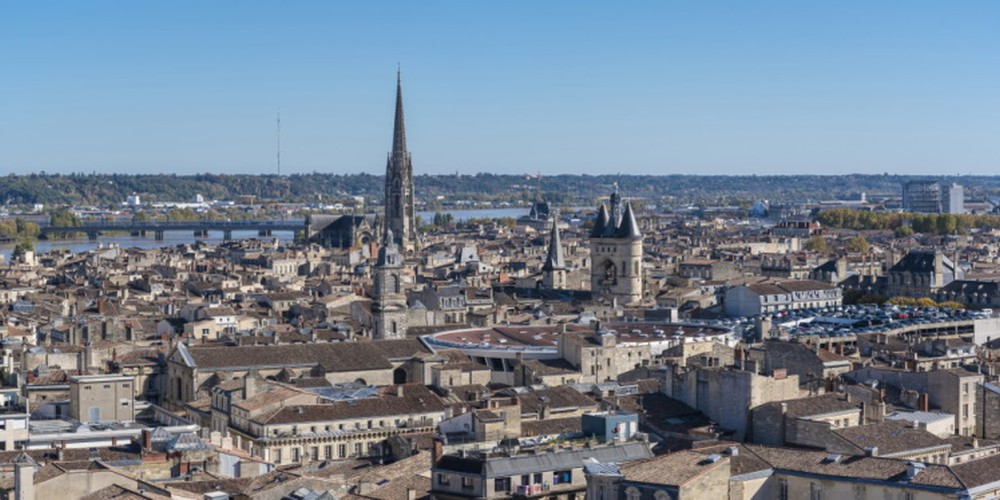 Bordeaux overview Credits Atout France - Gilles Lansard   Doets Reizen   Frankrijk