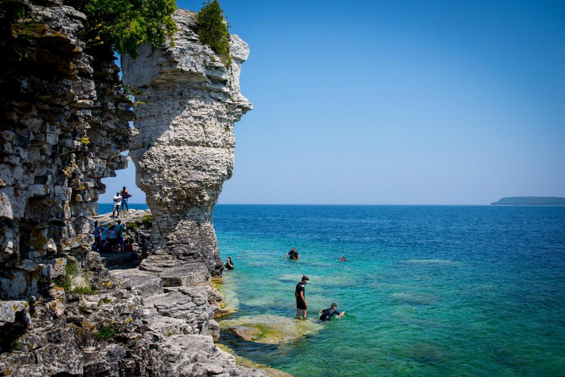 Fathom Five National Marine - Bruce Peninsula National Park - Ontario - Canada - Doets Reizen