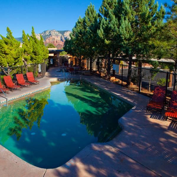 Best Western inn of Sedona - zwembad