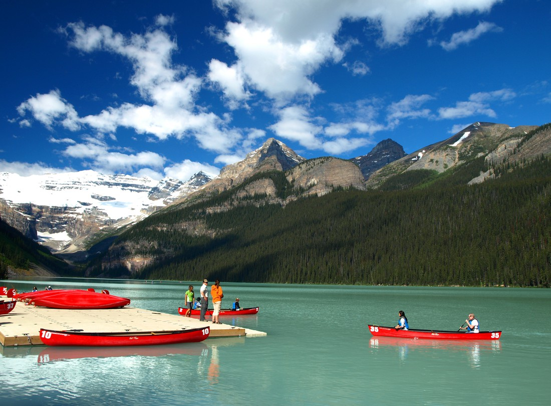 Lake Louise - Banff National Park - Alberta - Canada - Doets Reizen