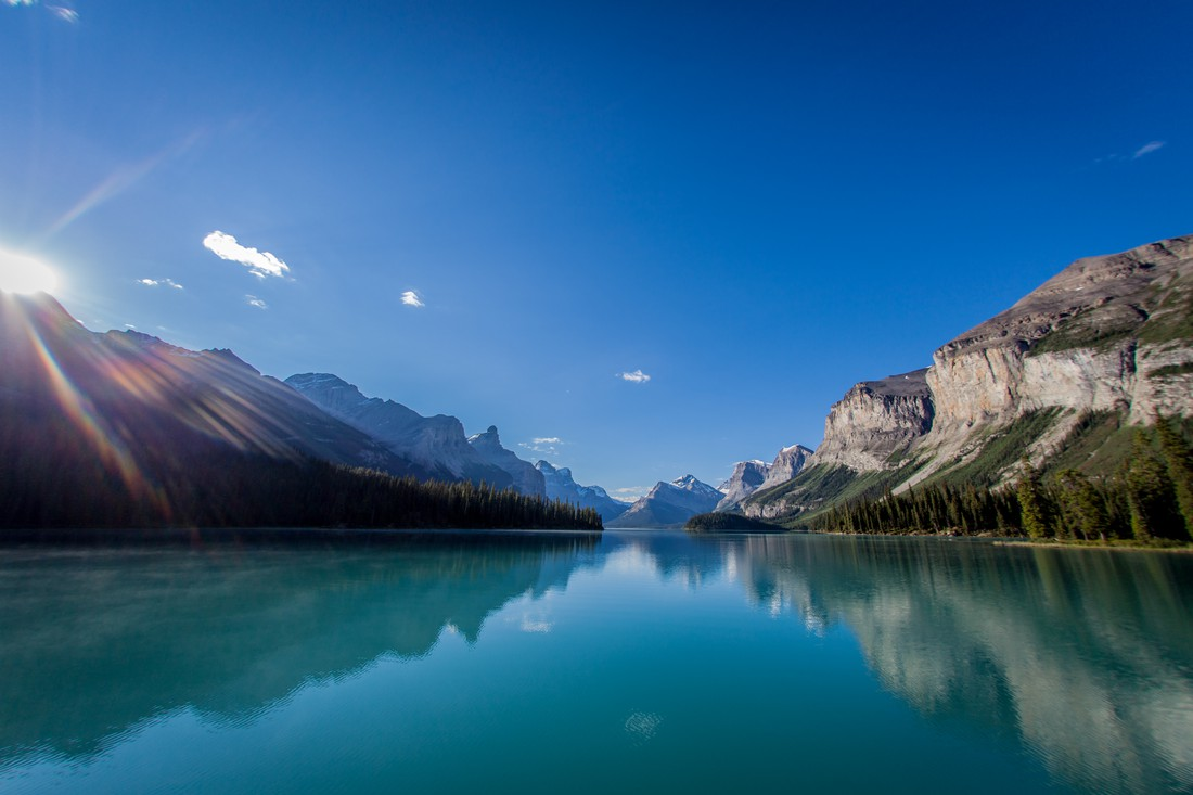 Jasper National Park Maligne Lake