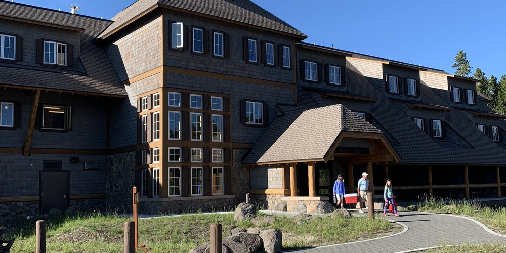 Canyon Lodge - Yellowstone National Park - Wyoming - Doets Reizen