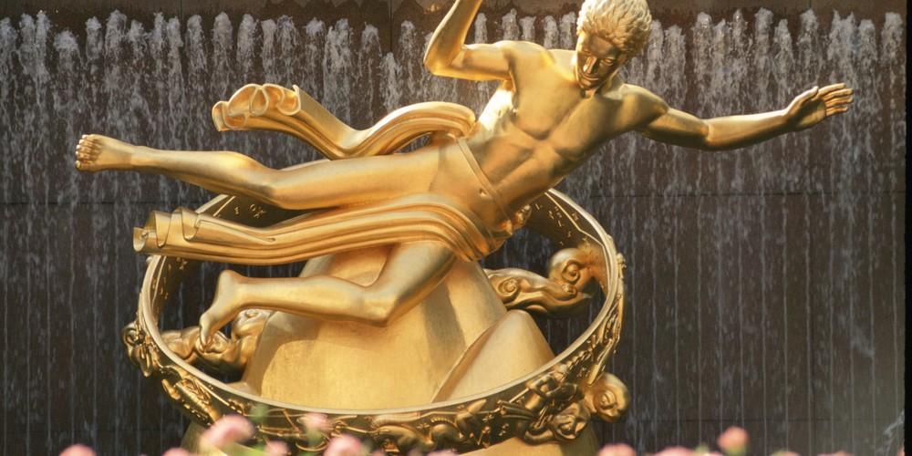 Rockefeller Plaza - Rockefeller Center - New York - Doets Reizen