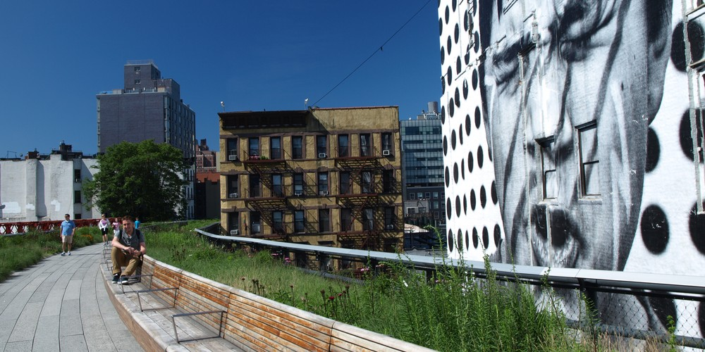 High Line Park in New York City