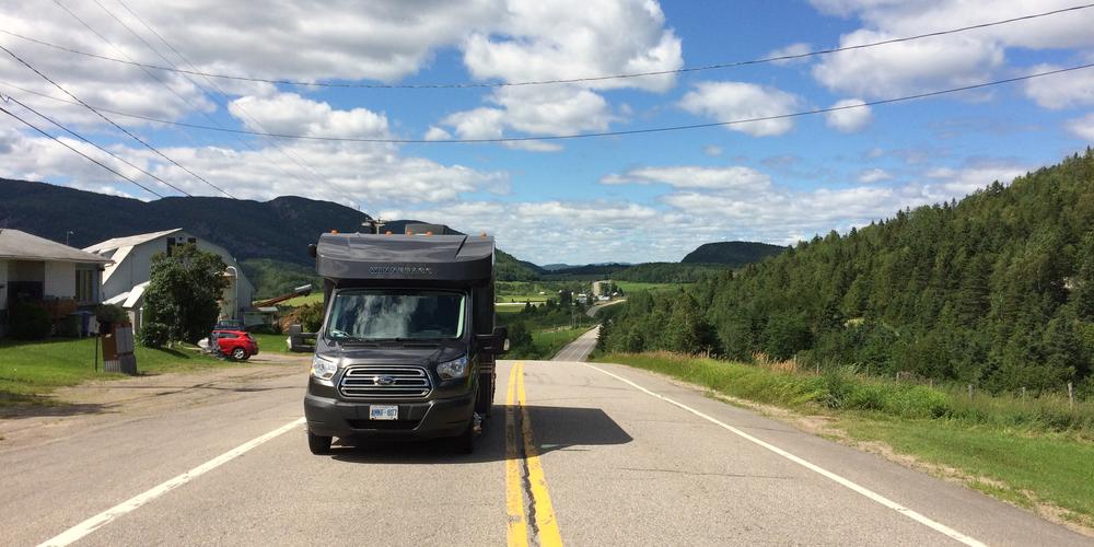 Met de camper bij Parc national du Fjord-du-Saguenay