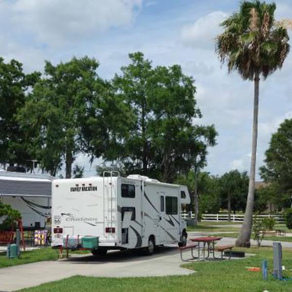 Orlando/Kissimmee KOA, camperplaats