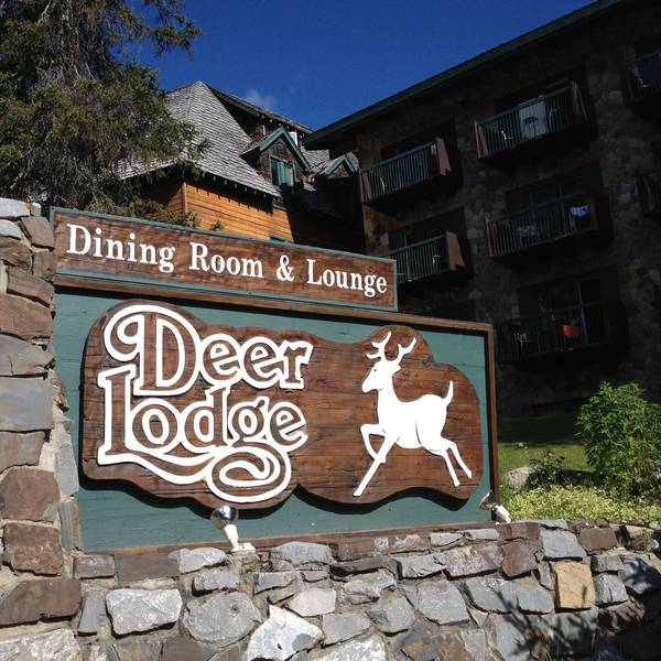 Deer Lodge - Banff National Park - Alberta - Canada - Doets Reizen