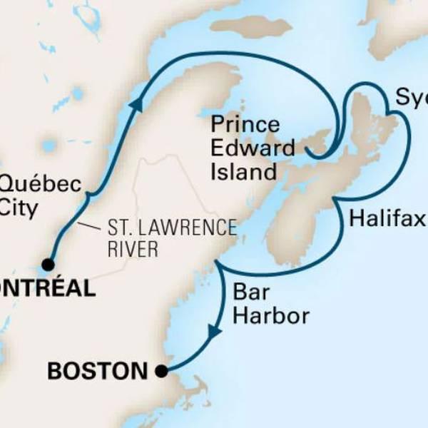 Cruise Boston Montreal - Holland America Line - Cruisevakantie - Doets Reizen