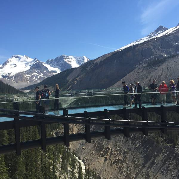 Icefields Parkway Glacier Skywalk