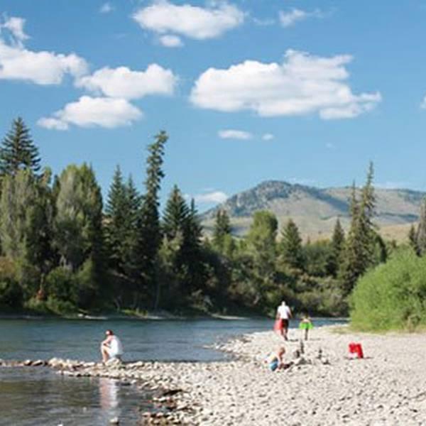 Jackson Hole Snake River KOA - River