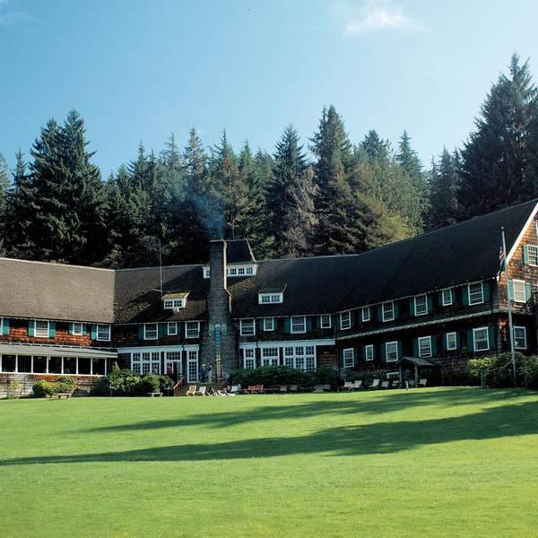 Lake Quinault Lodge - exterior 2