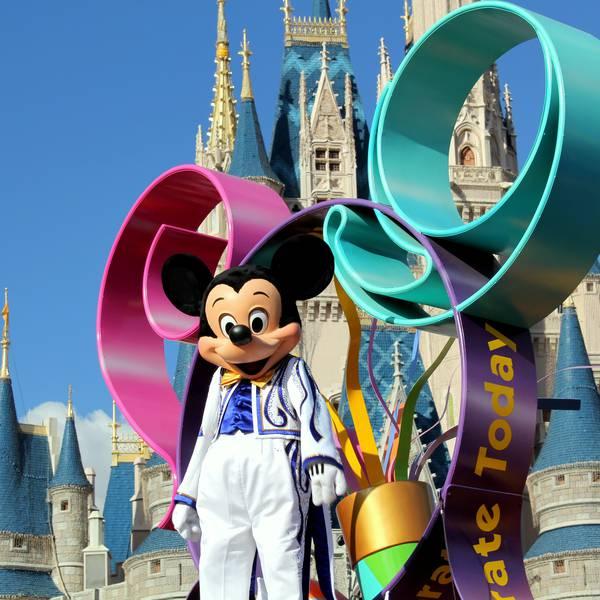 Mickey Mouse in Magic Kingdom Orlando Florida