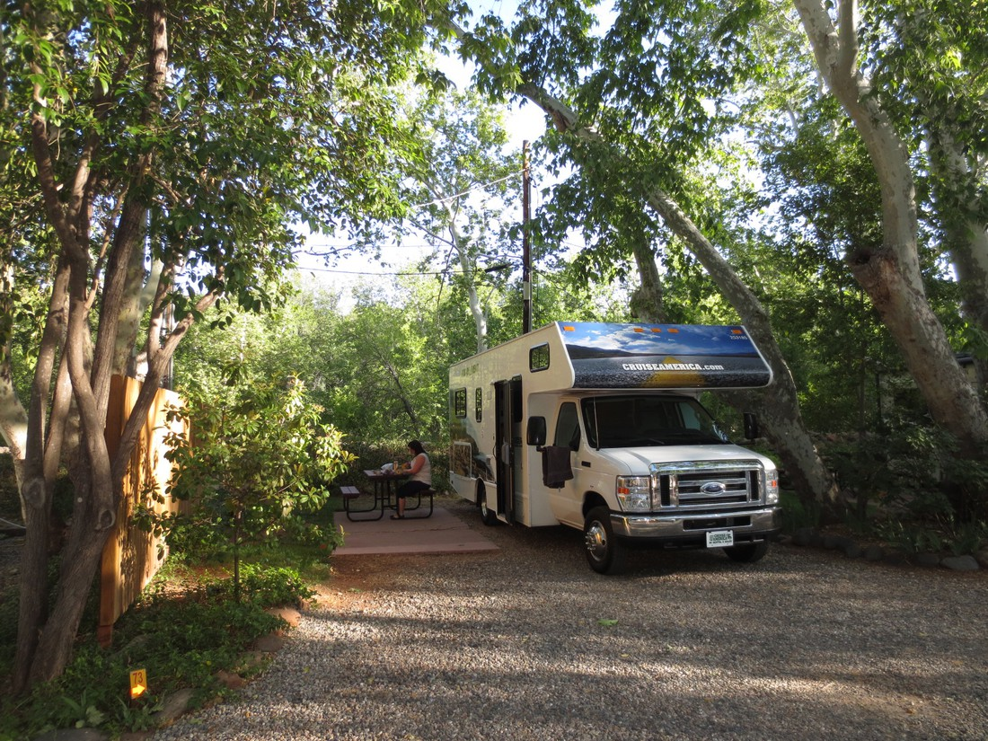 Camping - Cruise America - Camper huren Amerika -Camperreis - Doets Reizen