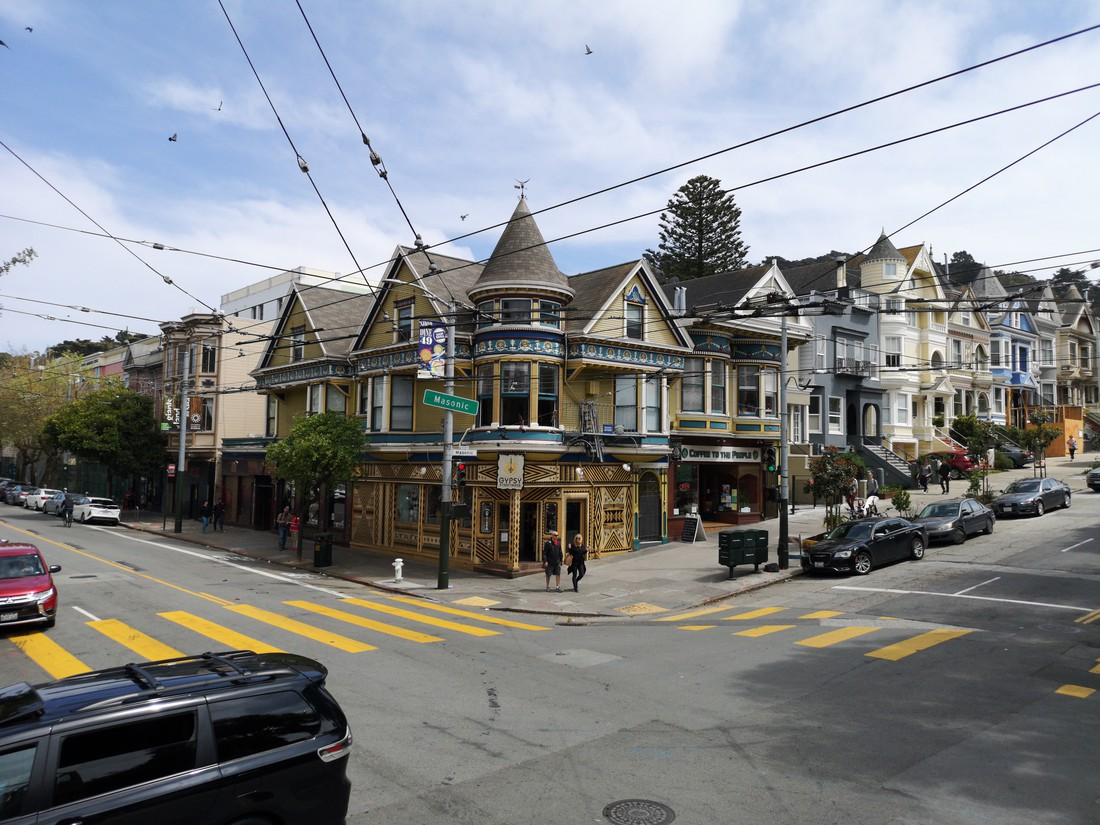 Haight Ashbury - San Francisco - California - Amerika - Doets Reizen