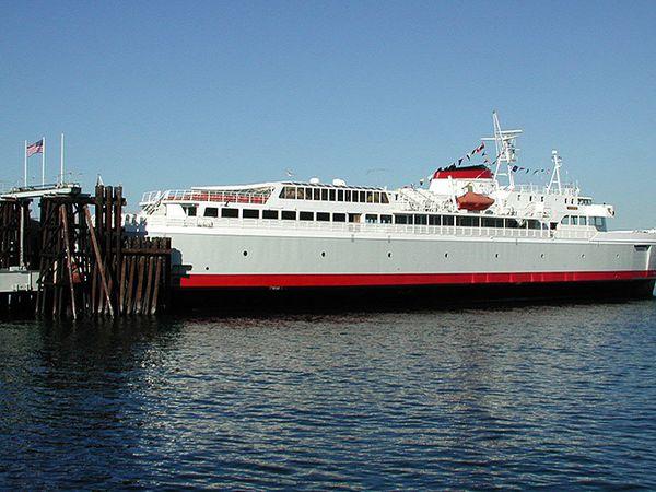 Ferry Victoria - Port Angeles - Washington State - Doets Reizen