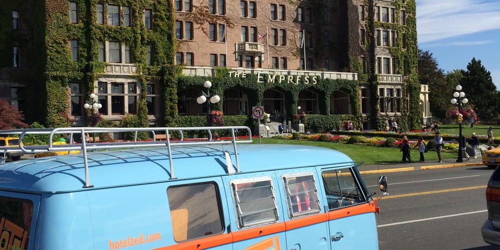 Empress Hotel - Victoria - Vancouver Island - British Columbia - Canada - Doets Reizen