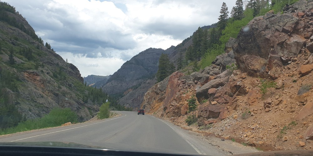 Million Dollar Highway - Colorado - Doets Reizen