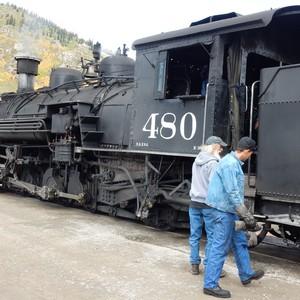 Met de stoomtrein van Durango naar Silverton - Dag 22 - Foto
