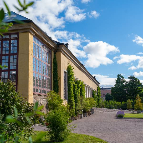 Uppsala - Botanische tuinen
