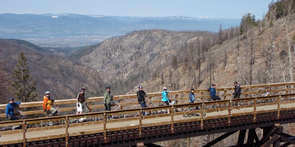 Kelowna Historic Myra Canyon - Okanagan Valley - British Columbia - Canada - Doets Reizen
