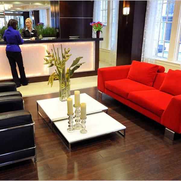 The Ellis Hotel - lobby