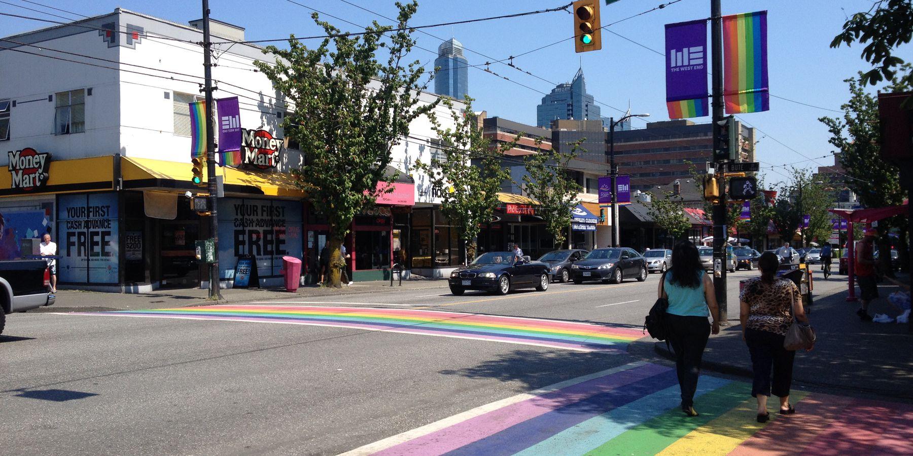 Davie Village - Vancouver - British Columbia - Canada - Doets Reizen
