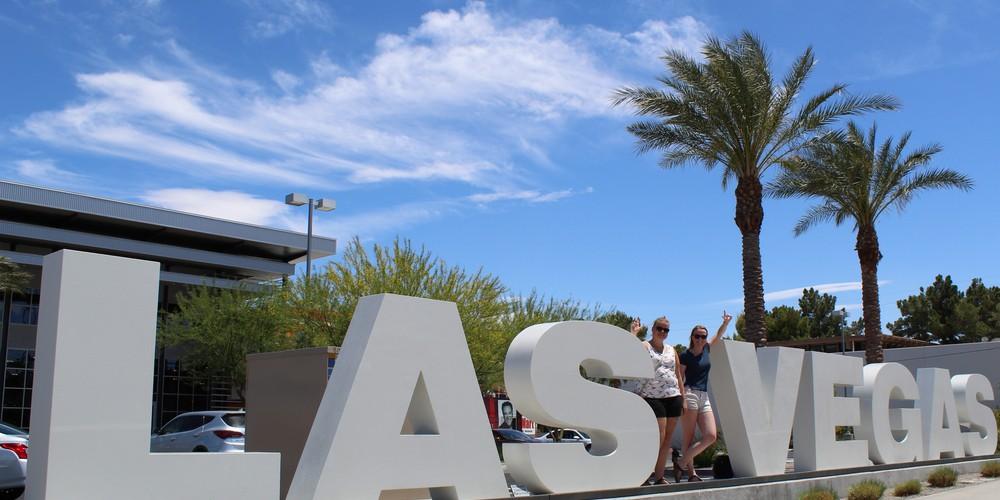 Las Vegas Sign - Nevada - Doets Reizen