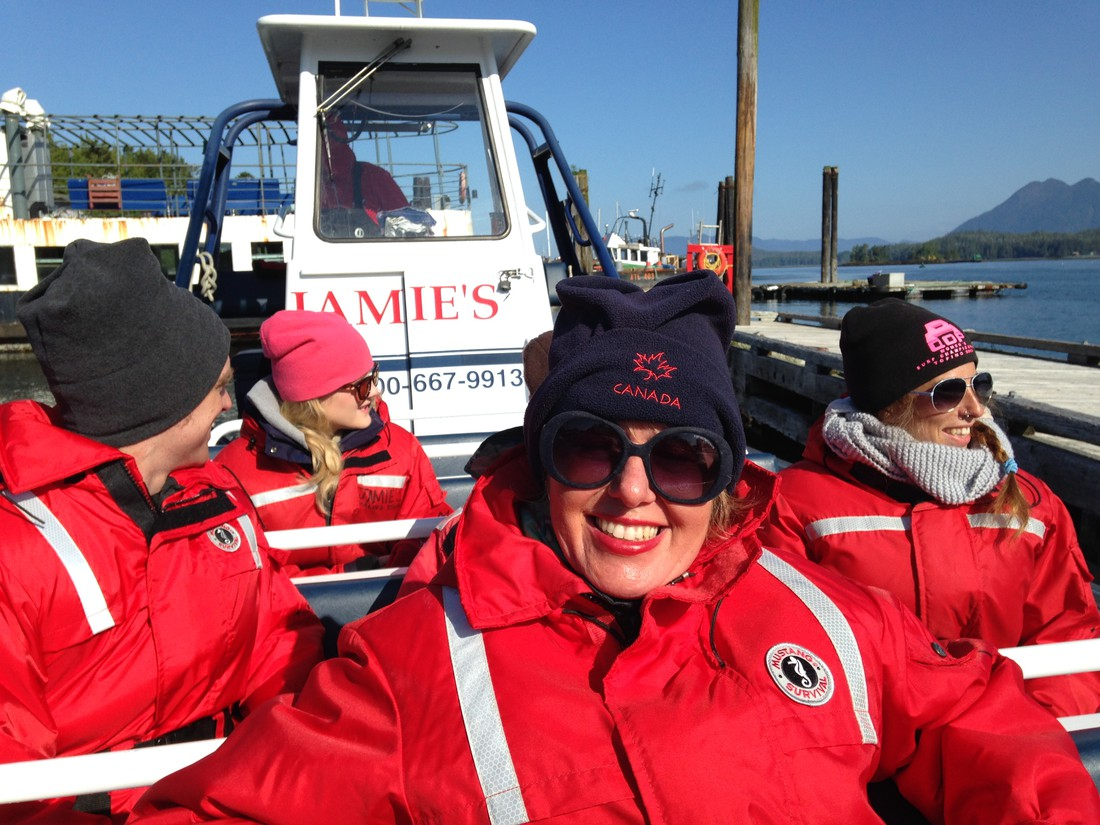 Whalewatching - Pacific Rim National Park - Vancouver Island - British Columbia - Canada - Doets Reizen