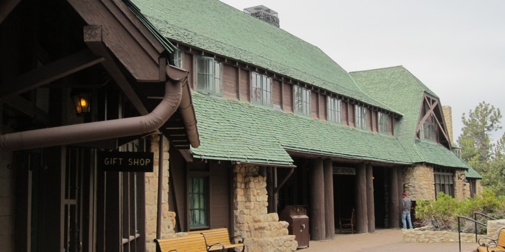 Bryce Canyon Lodge main lodge Utah.