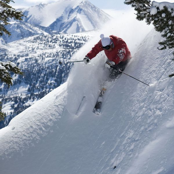 Wintersport Mammoth Mountain California USA