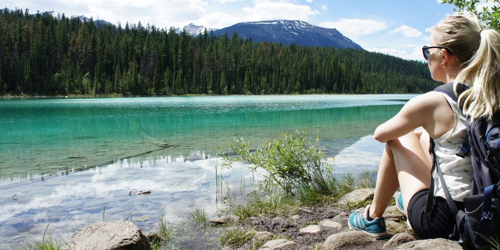 Valley of Five Lakes - Jasper National Park - Alberta - Canada - Doets Reizen