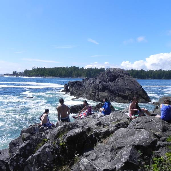Hot Springs - Pacific Rim National Park - Vancouver Island - British Columbia - Canada - Doets Reizen