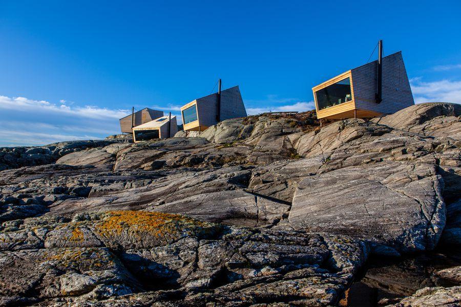 Flokehyttene Noorwegen - Vakantie Noorwegen - Doets Reizen - Fotocredits Fjord Norge - Holon Arkitektur