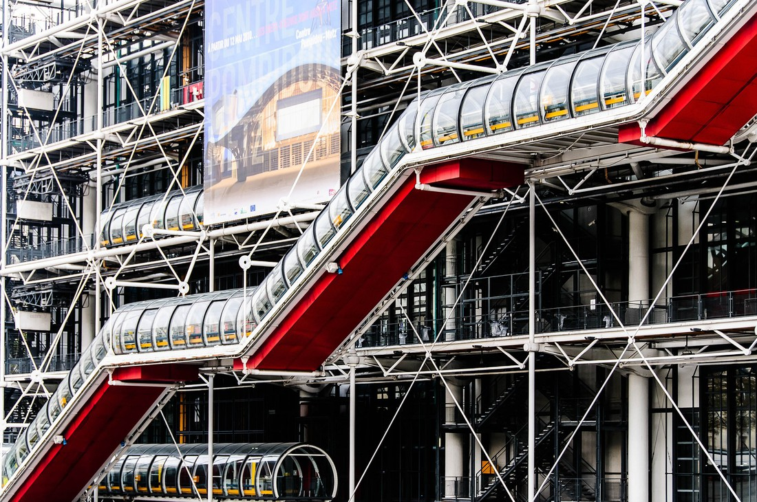 Centre Pompidou - Parijs - Frankrijk - Vakantie Frankrijk - Doets Reizen