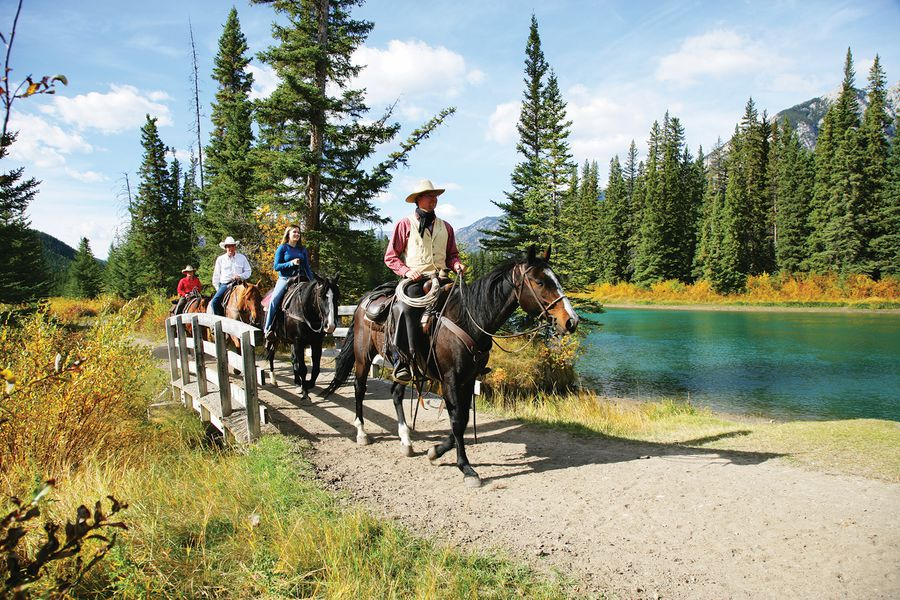 Bow River Ride - Banff National Park - Alberta - Canada - Doets Reizen
