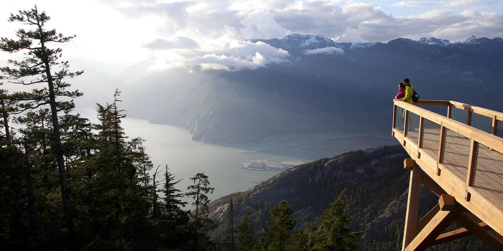 Sea to Sky Highway Howe Sound British Columbia