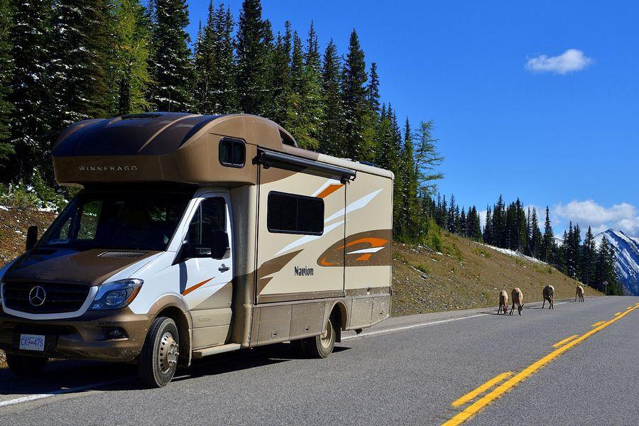 Op pad met de camper van Traveland RV