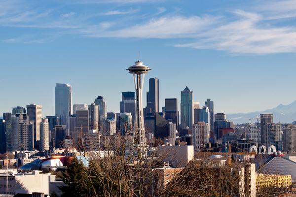 Skyline Seattle - Washington State - Doets Reizen