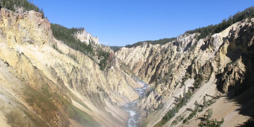 Artist Point - Yellowstone National Park - Wyoming - Doets Reizen