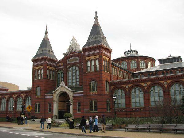 Arts and Industries Museum - Washington D.C. - Doets Reizen