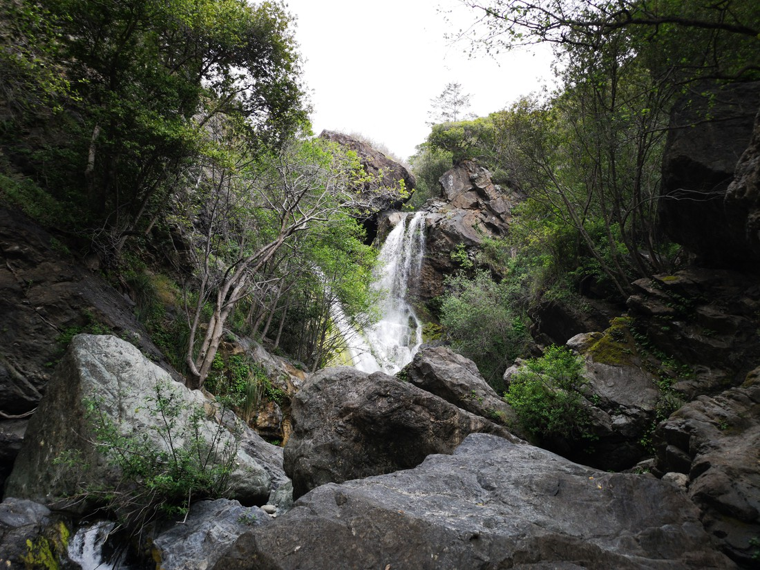 Salmon Creek falls - Big Sur - Highway 1 - California - Amerika - Doets Reizen
