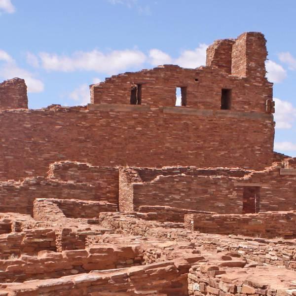 Salinas Pueblo Missions National Monument - New Mexico - Amerika - Doets Reizen