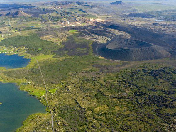 Hverfjall - IJsland - Doets Reizen
