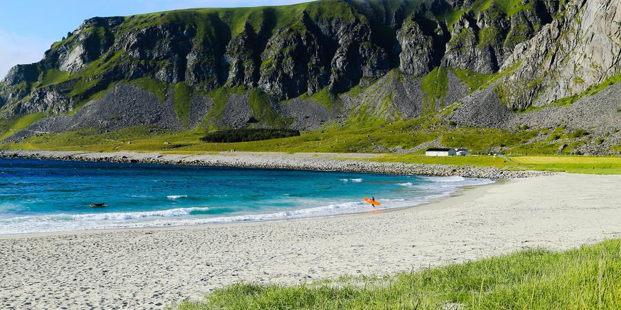 Surfen Lofoten - Doets Reizen - Vakantie Noorwegen - Credits Visit Norway