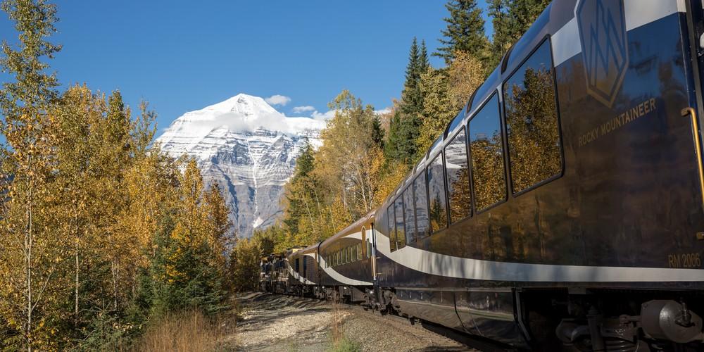 Mount Robson - Treinreizen - Rocky Mountaineer - Canada - Doets Reizen