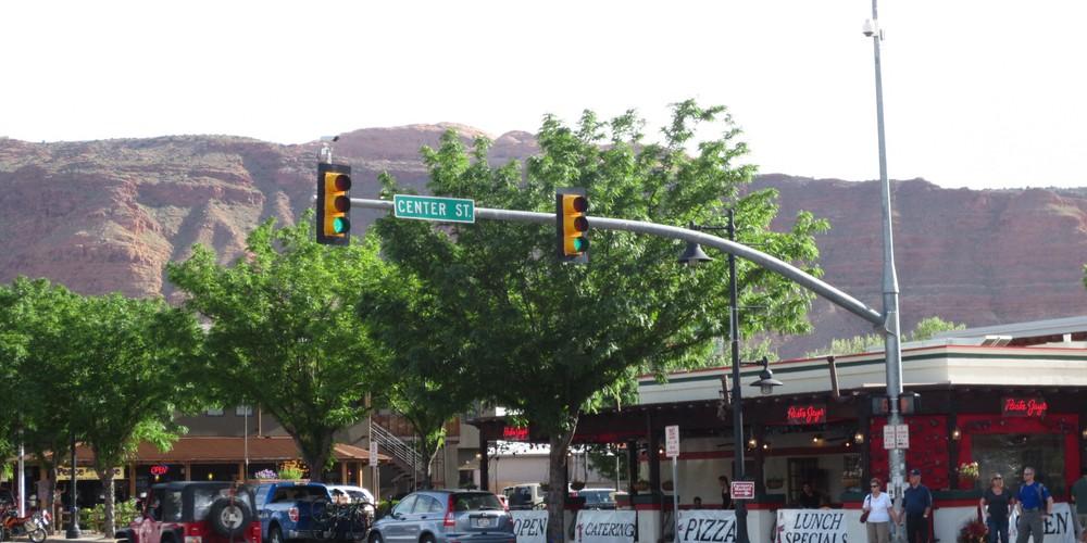 Moab in Utah bij Arches NP en Canyonlands NP
