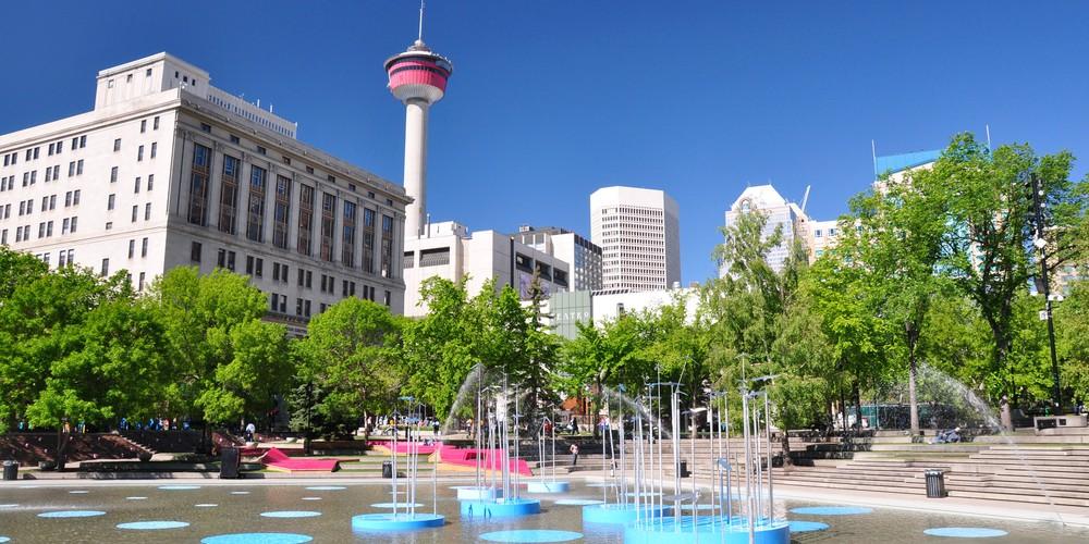 Olympic Plaza - Calgary - Alberta - Canada - Doets Reizen
