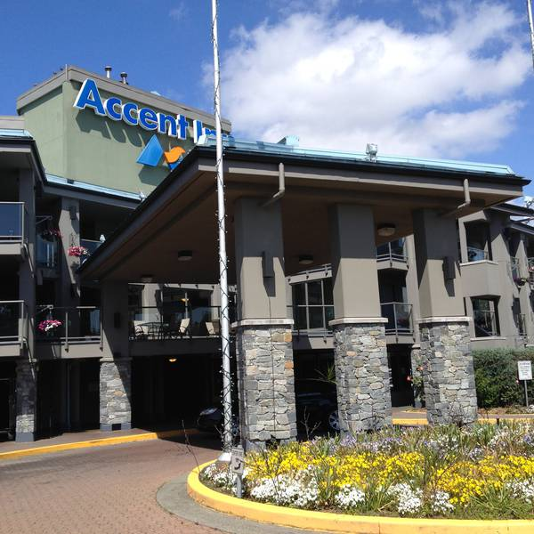 Accent Inn Vancouver Airport Hotel - aanzicht