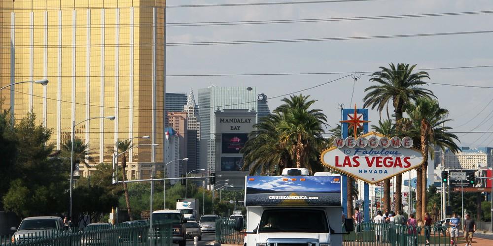 Cruise America Camper in Las Vegas