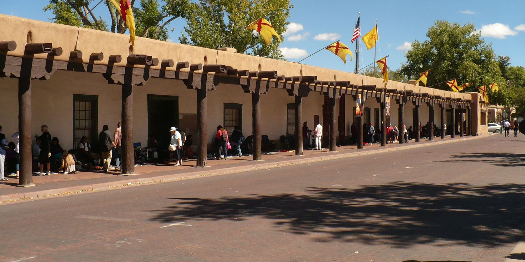 The Plaza - Santa Fe - New Mexico - Amerika - Doets Reizen